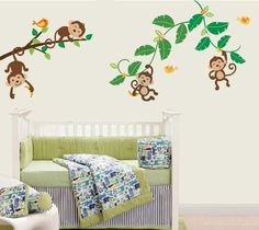 Monkeys%20Swinging%20On%20Vines%20Giant%20Peel%20%26%20Stick%20Wall%20Art%20Sticker%20Decals%2060*90cm%205%2FPcs%20Princess%20Wall%20Stickers%20Quote%20Decals%20For%20Walls%20From%20Leo__li%2C%20%2443.22%7C%20Dhgate.Com
