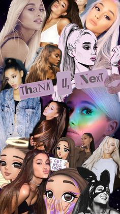 Ariana Grande Thank U Next Poster Print Wall Decor Artwork, Ariana Grande Fotos, Tumblr Ariana Grande, Ariana Grande Drawings, Ariana Grande Pictures, Ariana Grande Background, Ariana Grande Wallpaper, Adriana Grande, Thank U, Tumblr Wallpaper