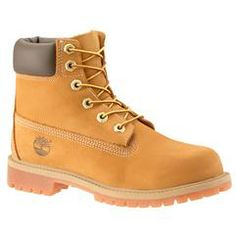 These waterproof boots are inspired by the original Timberland® boots, and feature the same rugged outdoor styling and hard-wearing construction. These are built to protect feet through puddles, rain, Kids Timberland Boots, Timberland Classic, Kid Shoes, Shoe Boots, Timberlands Shoes, Kids Boots, Waterproof Boots, Hiking Boots, Footwear
