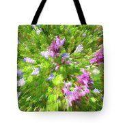 Just Spring Tote Bag by Laura Greco