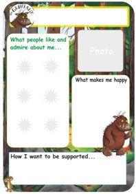 One page profiles fun templates