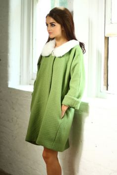 Tara Starlet | Girlfriend Coat  ......I want that coat too!!!