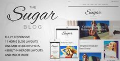 Download and review of SugarBlog - Clean & Personal WordPress Blog Theme, one of the best Themeforest Magazine & Blogs themes {Download & review at|Review and download at} {|-> }http://best-wordpress-theme.net/sugar-clean-personal-download-review/