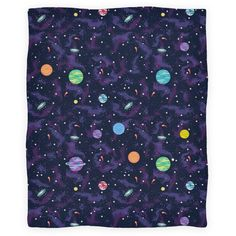 90s Cosmic Planet Blanket | Blankets, Fleece Blankets and Throws | HUMAN