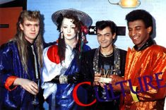 Boy George, King George, New Romantics, Culture Club, Many Faces, Group Photos, Pretty, People, Collection