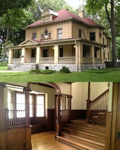 For Sale: Scott-Rumely House, La Porte, Indiana, built in 1901.