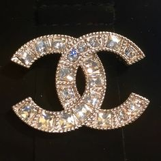 "Selling this ""*Authentic* Chanel crystal brooch 2015 collection."" in my Poshmark closet! My username is: loveoflux. #shopmycloset #poshmark #fashion #shopping #style #forsale #CHANEL #Accessories"
