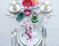 Guide: Dæk bryllupsbordet med genbrug