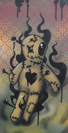voodoo doll - unknown artist