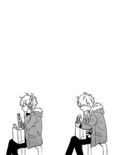 Hirunaka no Ryuusei #mangacap #manga