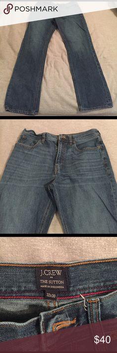"Jcrew men's ""the Sutton"" pants. Jcrew men's ""the Sutton"" pants. Lighter color than other listing. New without tags, wrong size. 32x30. J. Crew Jeans"