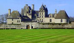 Château de kerjean, Finistère, Bretagne