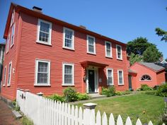 Historic homes in Salem, MA