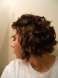 bridesmaid hair; incase my hair is still short at wedding time!