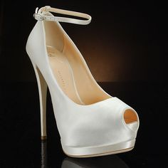 GIUSEPPE ZANOTTI I16090 Wedding Shoes and I16090 Dyeable Bridal Shoes IVORY