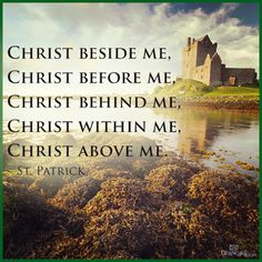 God beside, before, behind, within and above all.