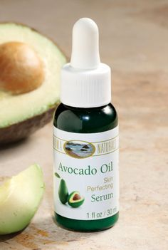 Avocado Oil Facial Serum has collagen-boosting fatty acids that smooth your skin for a younger look.