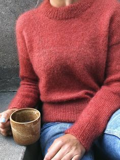 Ravelry: Stockholm Sweater pattern by PetiteKnit Poncho Style, Drops Kid Silk, Raglan Pullover, Stockholm, Pijamas Women, Estilo Fashion, Mohair Sweater, Sweaters Knitted, Knitted Poncho