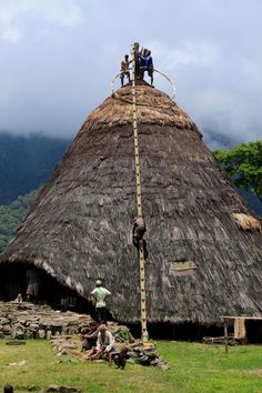 The Official Website of Indonesia Tourism - Indonesia Travel Religious Architecture, Historical Architecture, Architecture Details, Modern Architecture, Unusual Buildings, Interesting Buildings, Viking Village, Natural Structures, Bali