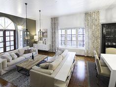 Detached house, interior design, living room. Omakotitalo, sisustussuunnittelu, olohuone. Egnahemshus, inredningsdesign, vardagsrum.