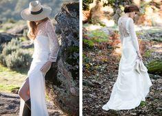 Hoy en el blog os hablamos de la nueva colección de novias Clover de David Christian http://www.unabodaoriginal.es/blog/de-la-cabeza-a-los-pies/vestidos-de-novia/novias-david-christian