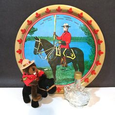 Hey, I found this really awesome Etsy listing at https://www.etsy.com/ca/listing/293435309/vintage-rcmp-canada-souvenir-metal-litho