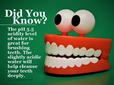 Teeth and Acidic Water http://www.ionizeroasis.com/pages/alkaline-water-and-health-benefits.html