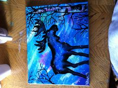 Abstract Moose Painting by Lori Teich #art