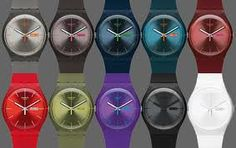 Swatch Rebels - what ever you wear, there is a matching Rebel