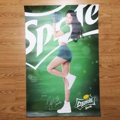 [Limited Item] AOA Seol Hyun x Sprite Promotional Bromide in Tube