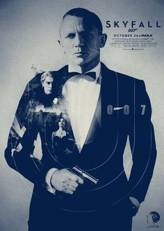 Skyfall - movie poster - Dan Shearn