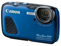 Rugged Canon PowerShot D30 takes the deepest dive