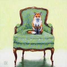 ginger, painting by artist Kimberly Applegate