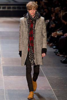 Saint Laurent Fall 2013 Menswear Fashion Show