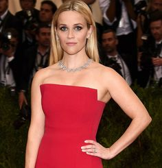 Jewelry Heist: #dreamheist Reese Witherspoon in Tiffany & Co jewels at the 2015 Met Gala