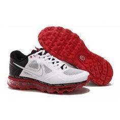 on sale 81f8e c184c Nike Air Max 2013 Men White Red Black