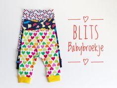 Blits Babybroekje naaien maken gratis patroon