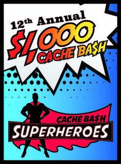 2019 Cache Ba$h Geocaching, Wisconsin, Comic Books, Superhero, Comics, Cartoons, Cartoons, Comic, Comic Book
