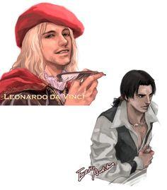 [AC2] Ezio & Leonardo