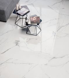 calacatta golden marble, italian white marble flooring tile for