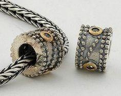 Pandora Black Friday Silver Gold Charms SC009 Deals