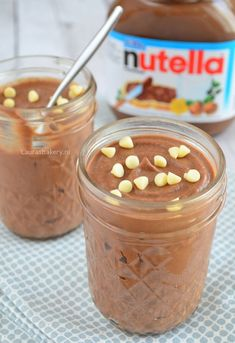 Nutella mousse - Laura's Bakery