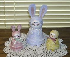 so cute for easter with clay pots