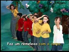 Mundo da Criança - Cantando com o Corpo The Music Man, Music For Kids, Kids Videos, Music Class, Nova Versão, Kids Gymnastics, 1st Day Of School, Instruments, Beats