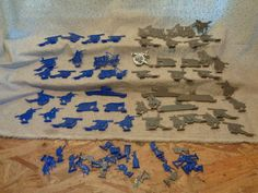 CIVIL WAR PLASTIC GAME PIECES TOYS SOLDIERS CANNONS HUGE LOT NORTH SOUTH - http://hobbies-toys.goshoppins.com/toy-soldiers/civil-war-plastic-game-pieces-toys-soldiers-cannons-huge-lot-north-south/