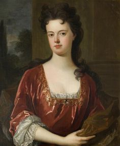 Lady Elizabeth Isham (d.1713) attributed to Charles d'Agar (Lamport Hall - Lamport, Northamptonshire UK) | Grand Ladies | gogm