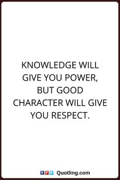 Quotes About Character | 22 Best Character Quotes Images Character Quotes Quote Life