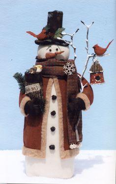 Christmas Canvas, Felt Christmas, Christmas Snowman, Christmas Projects, Holiday Crafts, Christmas Ornaments, Country Christmas, Christmas Trees, Primitive Christmas Patterns