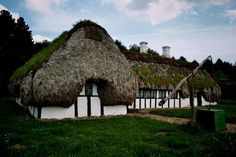 Old <b>Danish</b> <b>House</b> - Roof made of seaweed   <b>Danish</b>   Pinterest