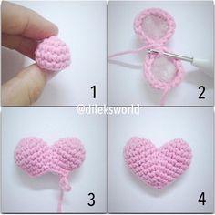 New Baby Diy Crochet Stitches Ideas Diy Crochet Stitches, Crochet Diy, Crochet Gifts, Crochet Dolls, Crochet Hat Tutorial, Crochet Mignon, Knitting Patterns, Crochet Patterns, Crochet Keychain